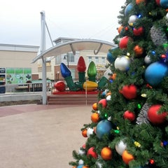 Photo taken at The Shops at Willow Lawn by Lyndsay G. on 12/12/2012