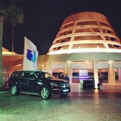 Photo taken at Sunset Beach Resort | منتجع شاطئ الغروب by Basim W. on 2/7/2013