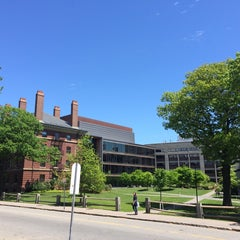 Photo taken at Maxwell Dworkin by Mark F. on 5/21/2014