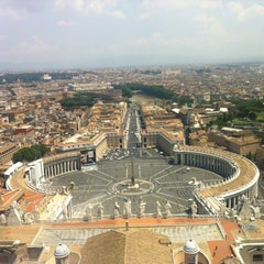 Photo taken at Piazza San Pietro by Beth H. on 7/12/2013