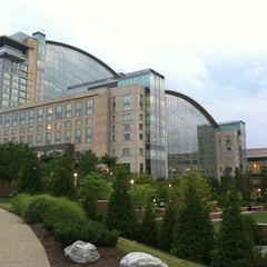 Photo taken at Gaylord National Resort & Convention Center by Eric B. on 7/28/2013