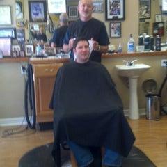 Photo taken at Franco's MVP barber shop by Chris T. on 1/21/2014