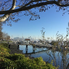 Photo taken at Elliott Bay Marina by Kerry M. on 11/28/2015