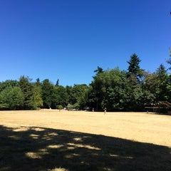 Photo taken at Cowen Park by Kerry M. on 7/1/2015