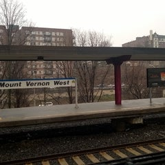 Photo taken at Metro North - Mt Vernon West Train Station by Enrico V. on 4/8/2014