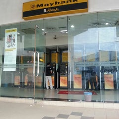 Photo taken at Maybank by Adzuan A. on 6/6/2013