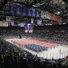 Photo taken at Nassau Veterans Memorial Coliseum by Steven M. on 1/19/2013