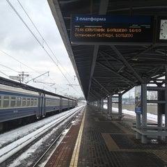 Photo taken at Лосиноостровская by Dmitry N. on 3/31/2013