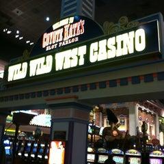 Photo taken at Wild Wild West Casino by Ariel P. on 12/8/2012