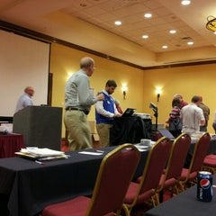 Photo taken at Indianapolis Marriott East by Dan C. on 10/11/2012
