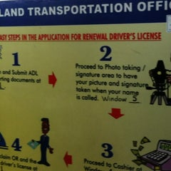 Photo taken at LTO Driver's License Renewal Center by Johanna S. on 10/1/2012