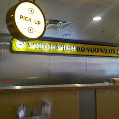 Photo taken at Which Wich? Superior Sandwiches by Stephan P. on 4/9/2014
