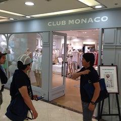 Photo taken at Club Monaco Breeze Center by Takeshi M. on 6/29/2014