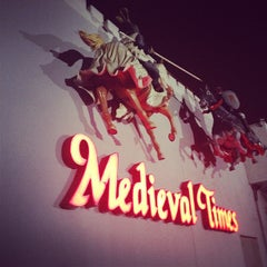 Photo taken at Medieval Times Dinner & Tournament by Kat K. on 12/23/2012
