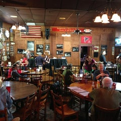Photo taken at Manuel's Tavern by Tim F. on 3/16/2013