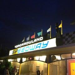 Photo taken at Tomorrowland® Speedway by Fernando R. on 10/7/2012