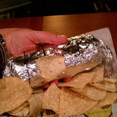 Photo taken at Moe's Southwest Grill by Chris M. on 12/11/2012