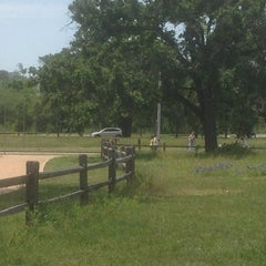 Photo taken at Memorial Park by Wren B. on 4/13/2013