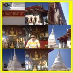 Photo taken at Suvarn Dararama Temple by North on 10/28/2012