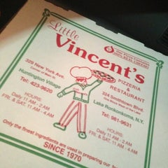 Photo taken at Little Vincent's Pizza by Matthew B. on 4/29/2013