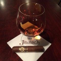 Photo taken at Jamie's Cigar Bar & Restaurant by JRCX . on 10/2/2015