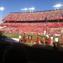 Photo taken at Arizona Stadium by Sarah W. on 10/27/2012