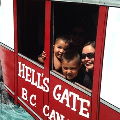 Photo taken at Hell's Gate Airtram by Andrew T. on 7/30/2014