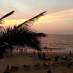 Photo taken at Anjuna Beach by 🌴Оля🐚 Е. on 3/5/2013
