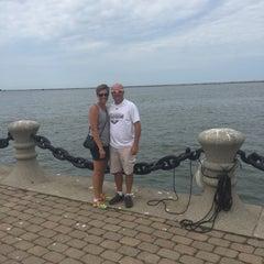 Photo taken at Lake Erie by Nicole W. on 8/9/2015