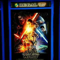 Photo taken at Regal Showcase Theatre 8 by Andrew L. on 1/6/2016