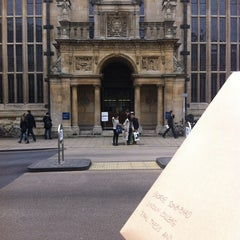Photo taken at Oxford University Examinations Schools by George S. on 10/5/2012
