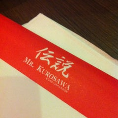 Photo taken at Mr. Kurosawa by Lawrence S. on 1/19/2013