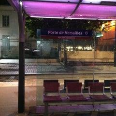 Photo taken at Station Porte de Versailles [T2,T3a] by Alexandre M. on 7/12/2013