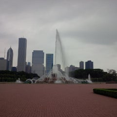 Photo taken at Grant Park by kholoud on 5/28/2013