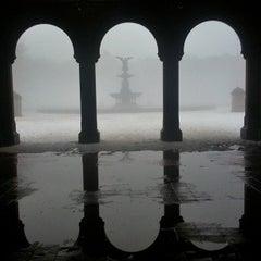 Photo taken at Bethesda Fountain by Eliane v. on 2/9/2013