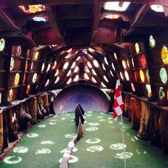 Photo taken at Big Stone Mini Golf & Sculpture Garden by Lisa O on 7/29/2014