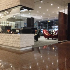 Photo taken at InterContinental by Ben H. on 10/6/2014