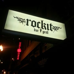 Photo taken at Rockit Bar and Grill by Nick S. on 12/30/2012