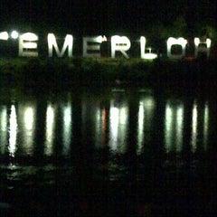 Photo taken at Tepi Sungai Termeloh by aidilツ on 4/5/2013