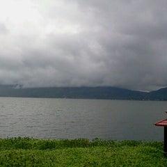 Photo taken at Danau Tondano by Fiona L. on 2/13/2013