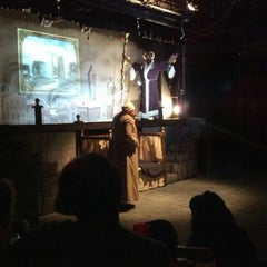 Photo taken at Pocket Sandwich Theatre by Paul K. on 12/9/2012