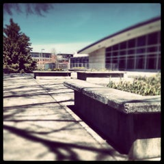 Photo taken at Brick Breeden Fieldhouse by Chris R. on 5/2/2013