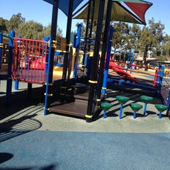 Photo taken at Tewinkle Playground by Becca W. on 1/17/2013