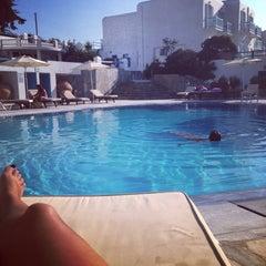 Photo taken at Hotel Poseidon by Dimitra K. on 8/15/2014