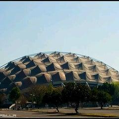 Photo taken at Palacio de los Deportes by Claudia on 12/15/2012