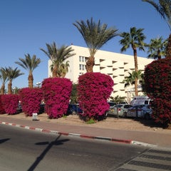 Photo taken at Le Méridien Eilat by Евгения М. on 3/5/2014