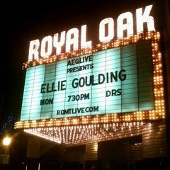 Photo taken at Royal Oak Music Theatre by Dan C. on 1/29/2013