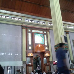 Photo taken at Masjid Agung Cianjur by Didin S. on 1/3/2014