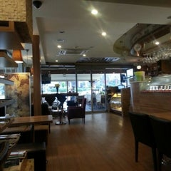Photo taken at coffeemania by Aysegul O. on 12/17/2012