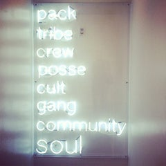 Photo taken at SoulCycle East 83rd by Kayla O. on 3/7/2013